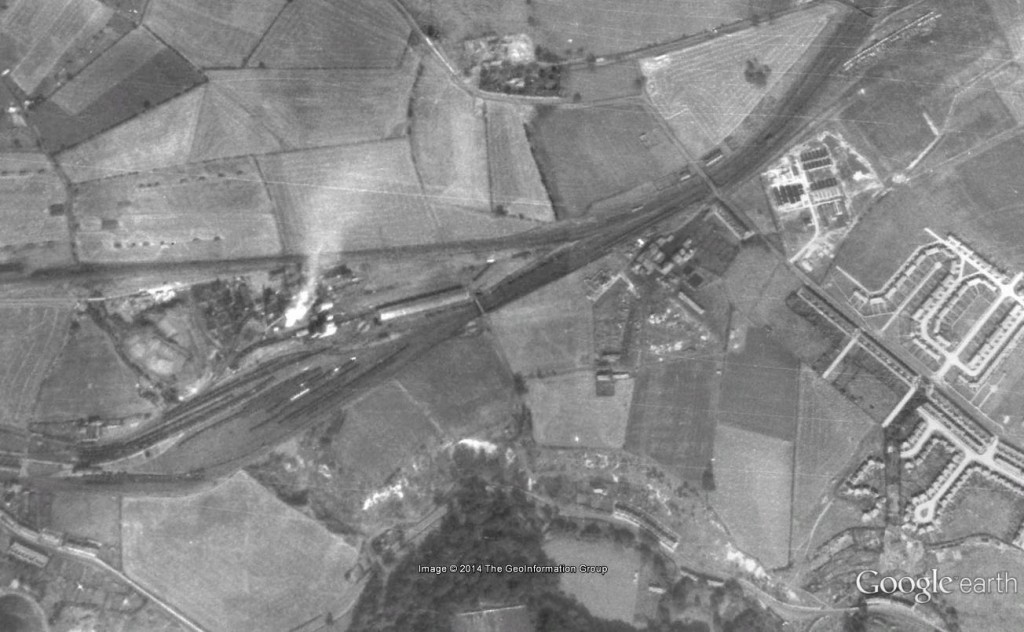 Google Earth Image of Stella Gill 1945