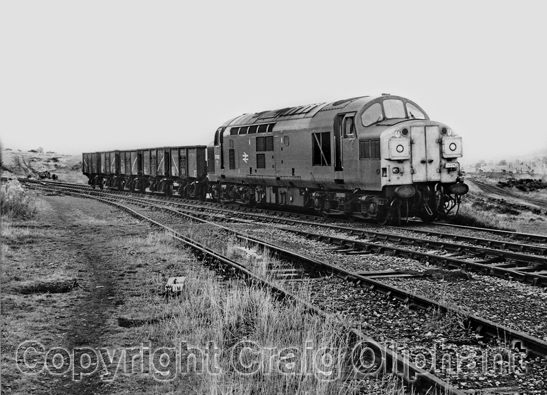 37023 at Annfield Plain on 30 September 1983