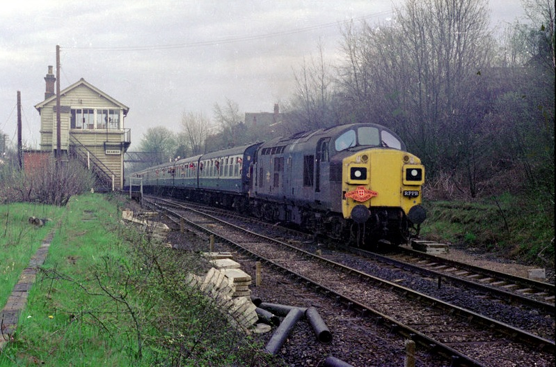 370620 on County Durham Crusader Railtour 19 May 1979 Alan Lewis