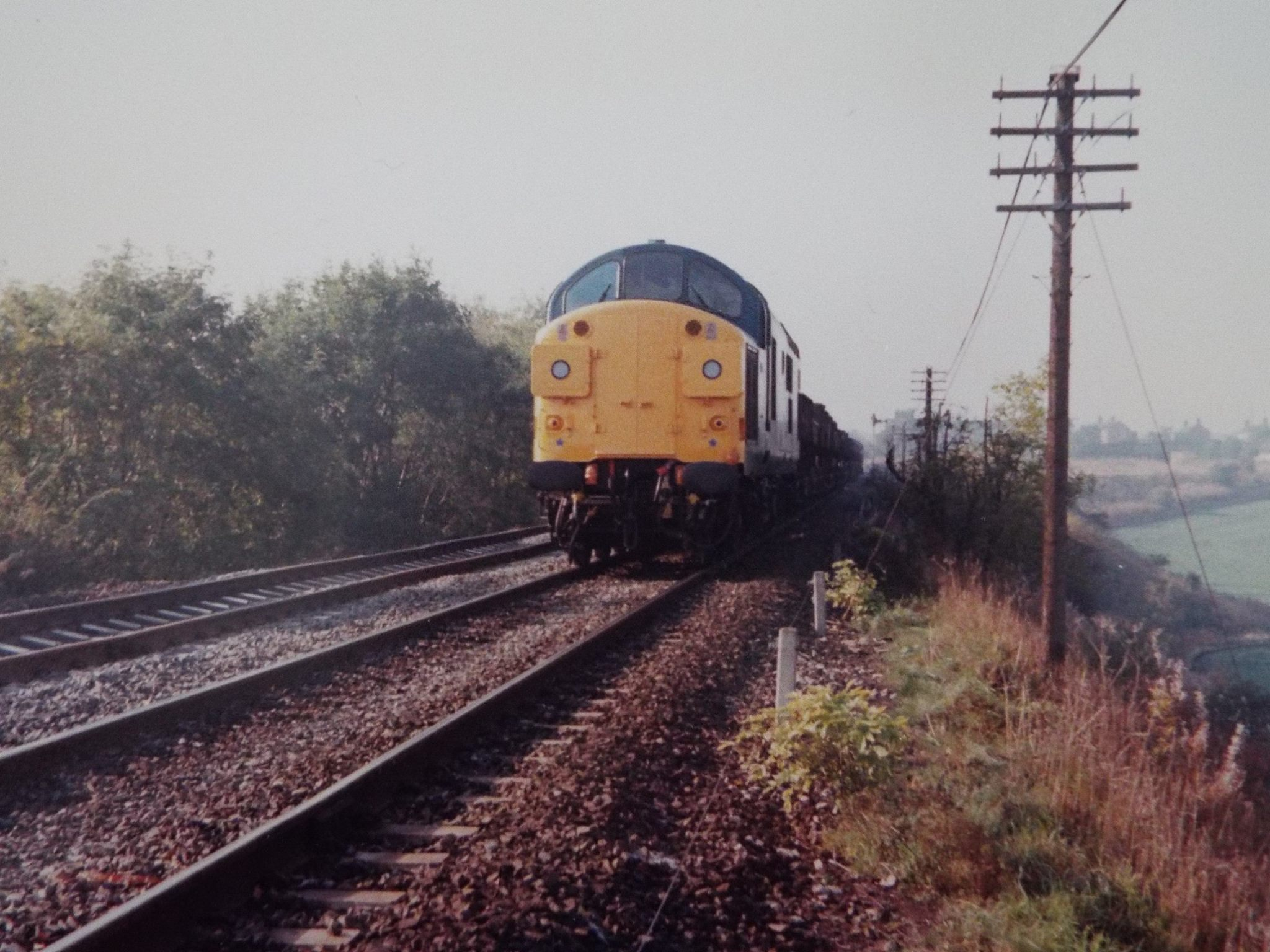 37108 passes Pelton with the 6T10 on 21 November 1979. Photo Copyright John Atkinson