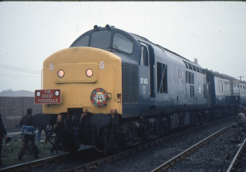 37143 at Consett. Photo copyright John Atkinson
