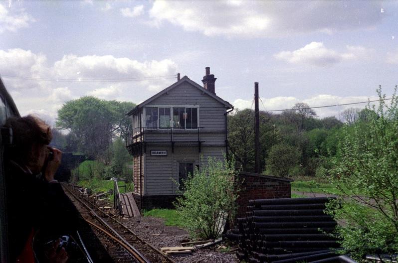 Beamish Signal Box 19 May 1979 Alan Lewis