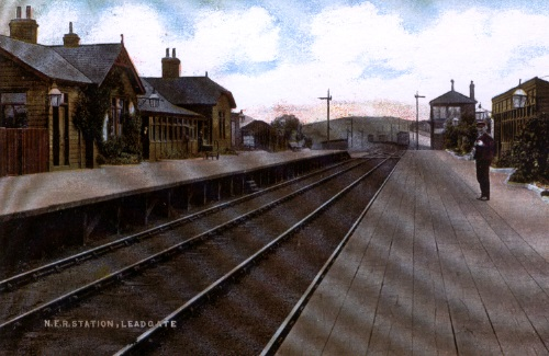Leadgate Railway Station (1907)