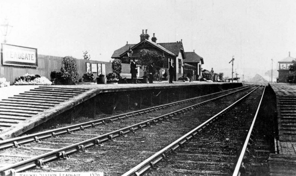 Leadgate station