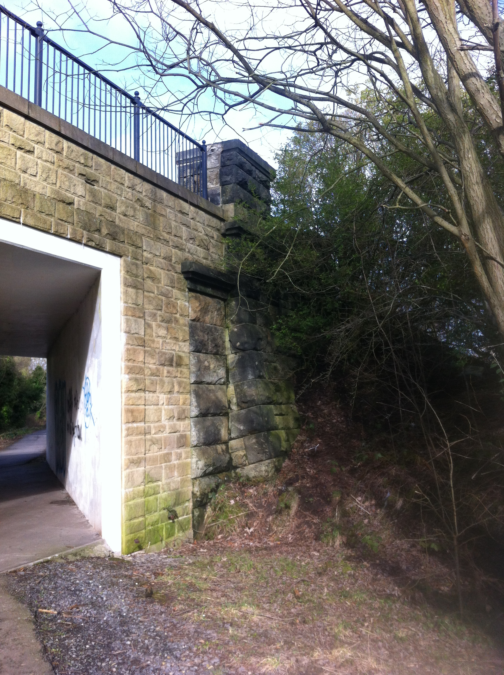 Road bridge at Pelton Lane Ends 1