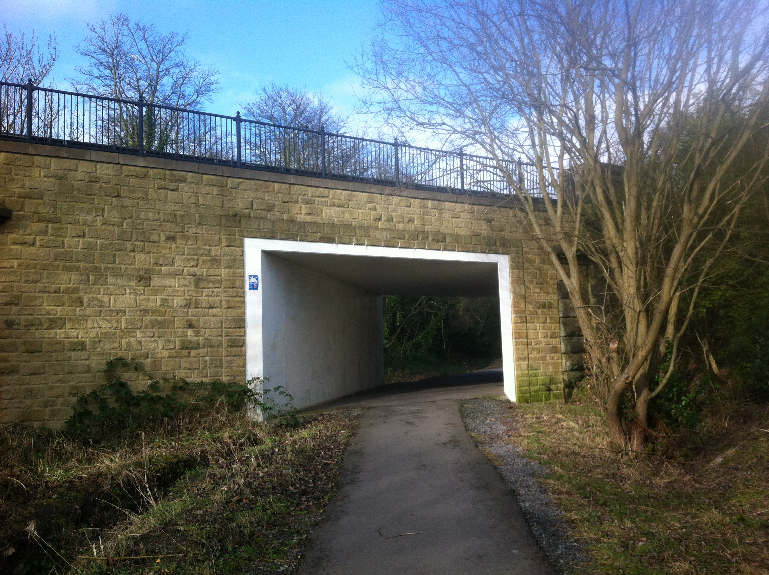 Road bridge at Pelton Lane Ends 3