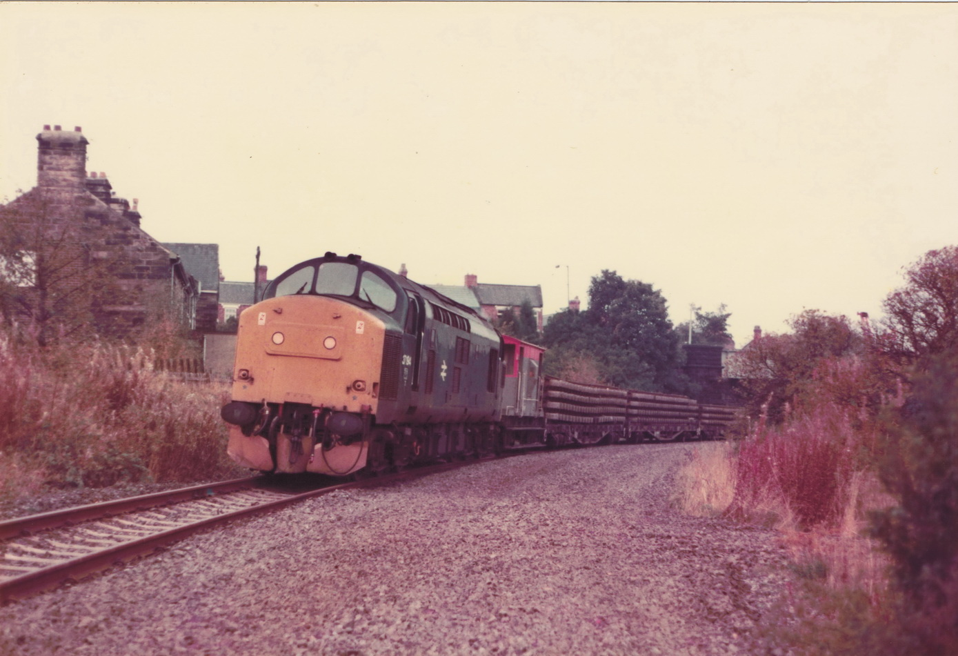 Pelton to Ouston 13 October 1985 006