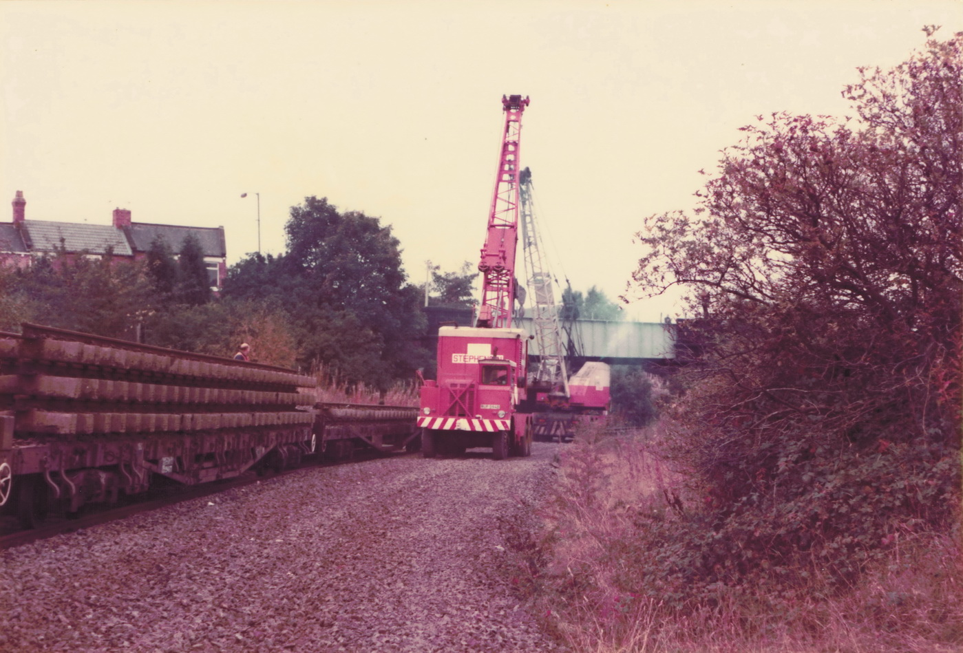 Pelton to Ouston 13 October 1985 008