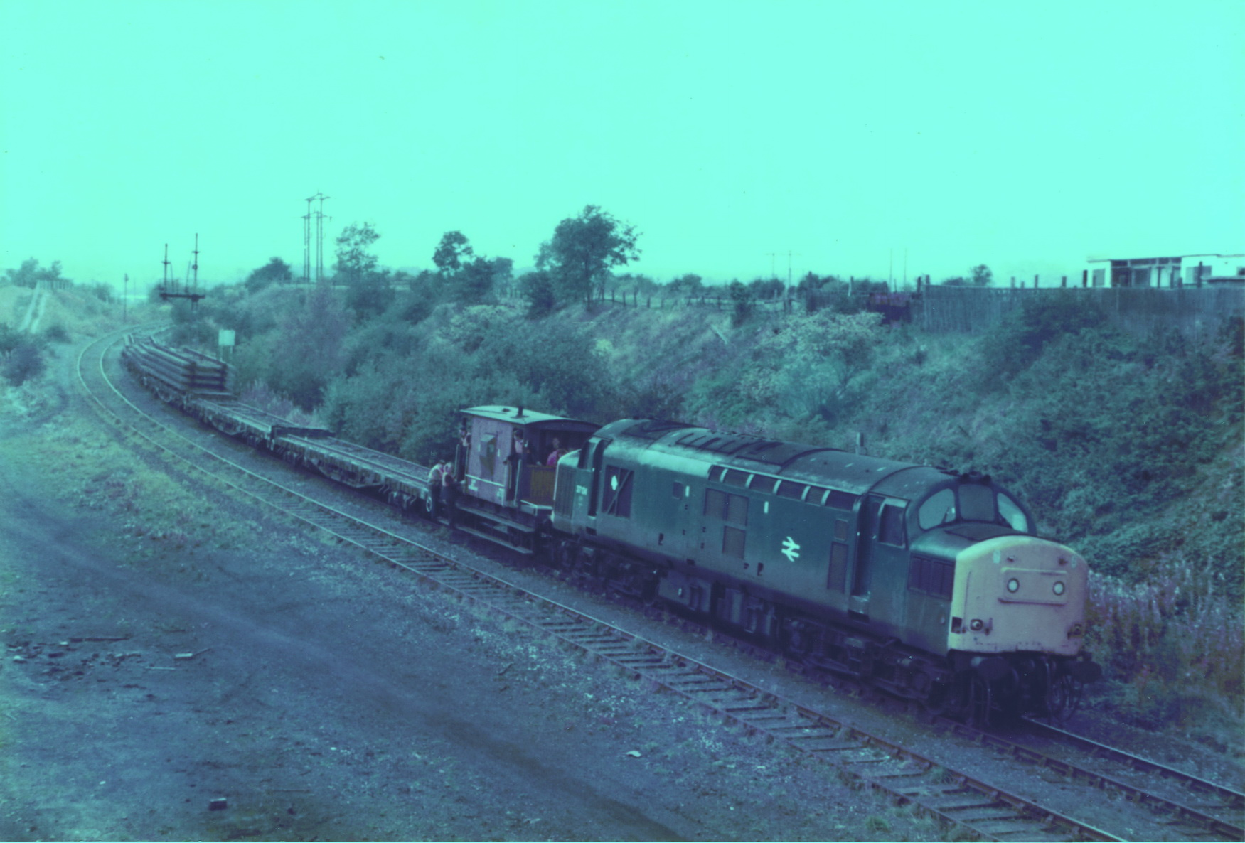 Pelton to South Pelaw 23 October 1985 007