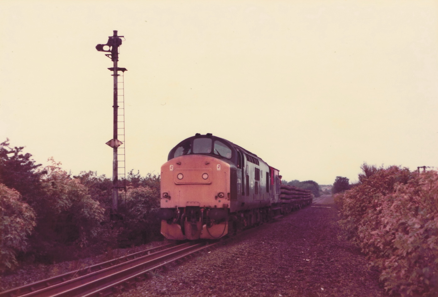 Pelton to South Pelaw 23 October 1985 2 002