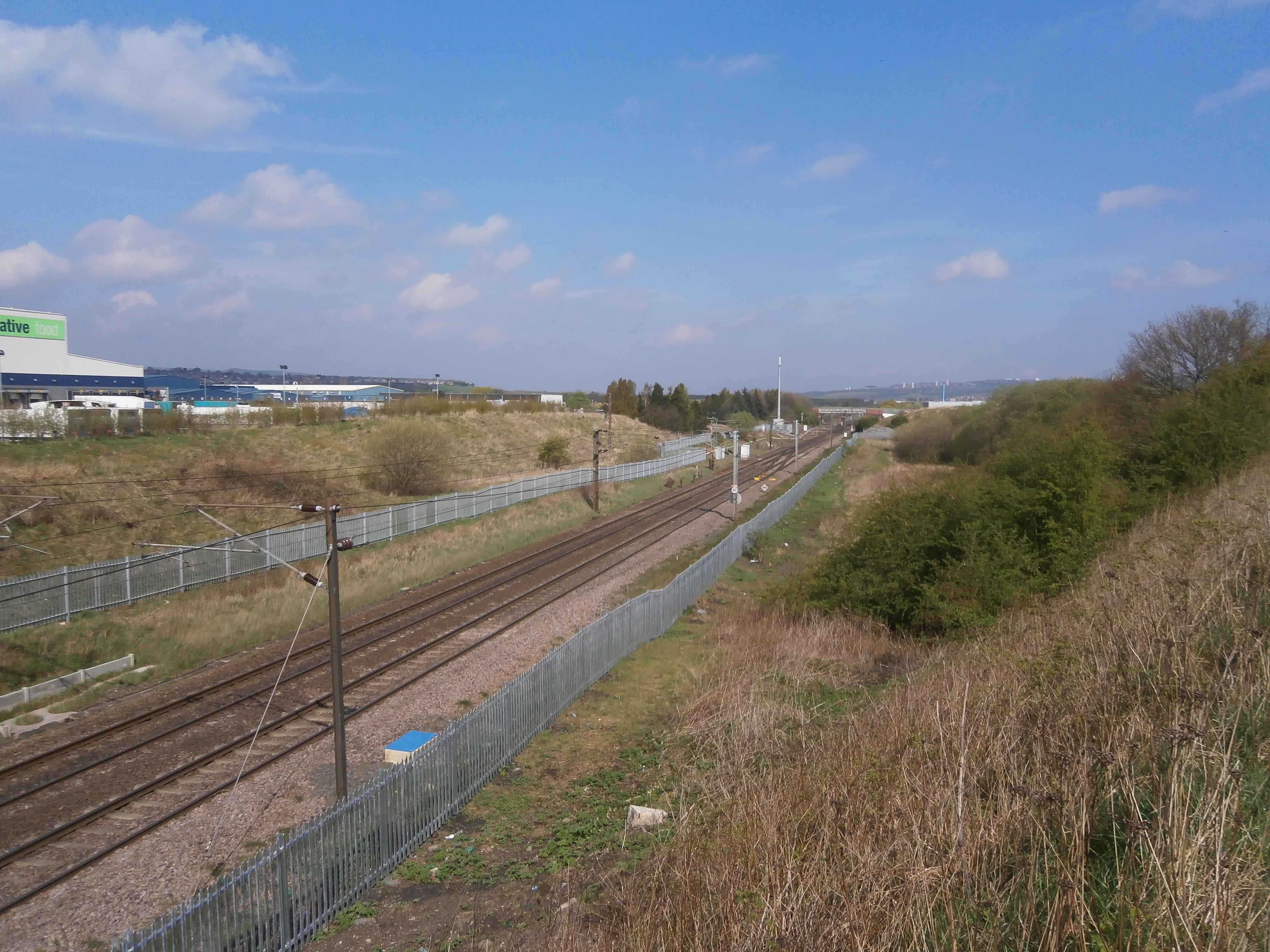 The site of Ouston Junction in 2014. Photo Author's Collection
