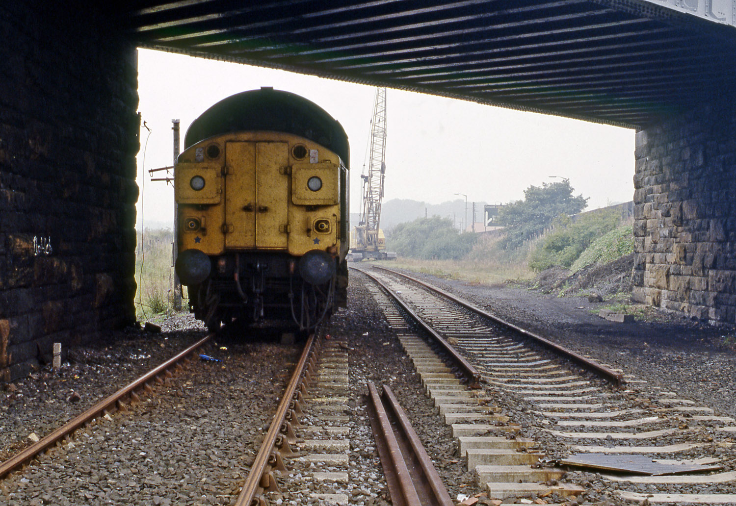 37093 at Leadgate 27 on September 1984. Photo copyright Stephen McGahon