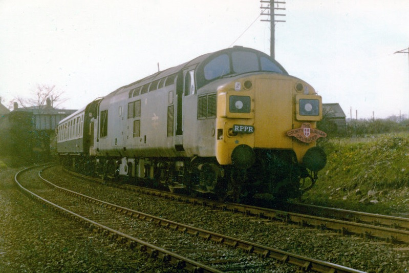 37062 on the County Durham Crusader at Pelton (12 May 1979) Alan Lewis