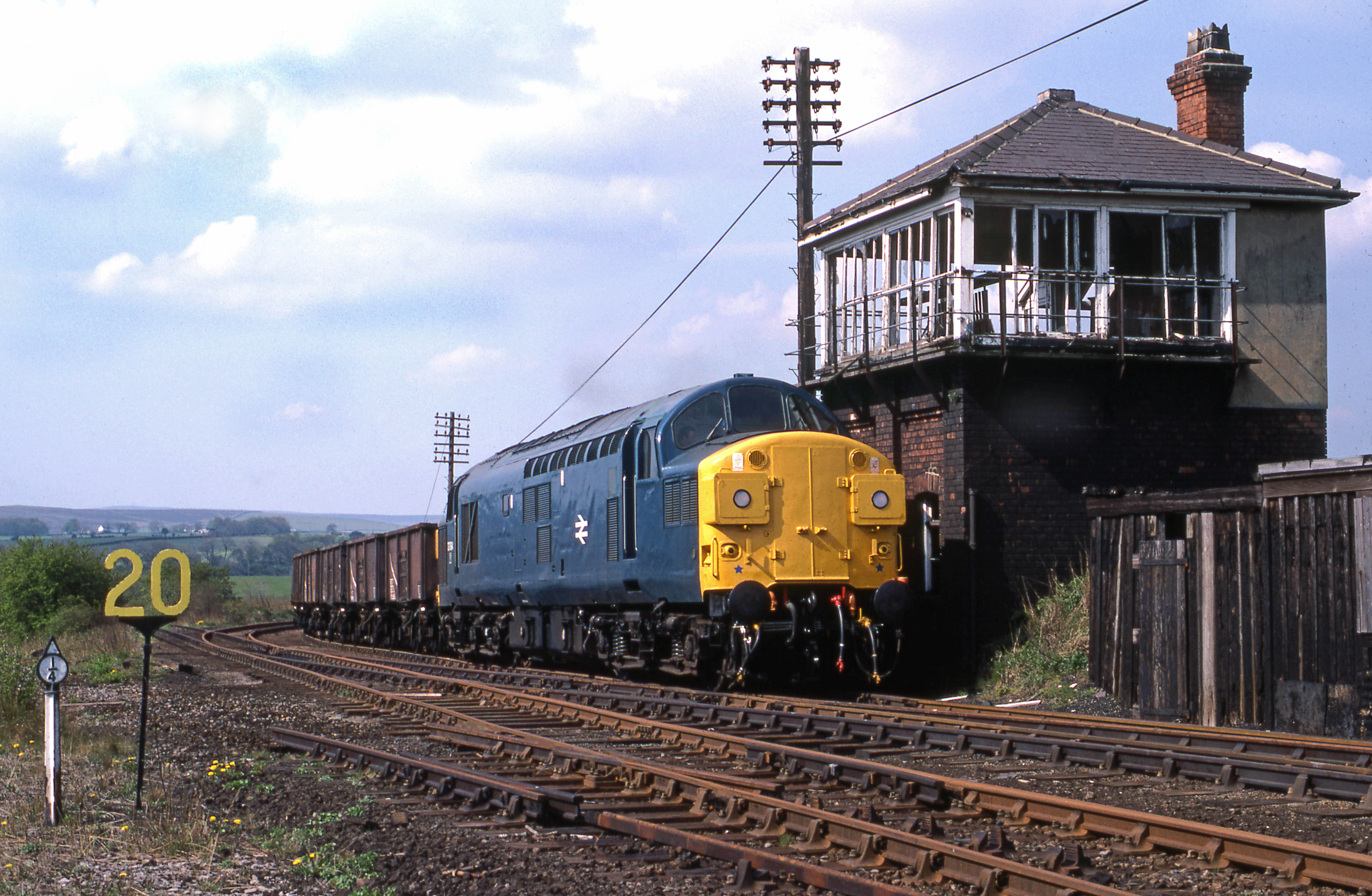 37094 at Consett East (10 May 1982) Stephen McGahon