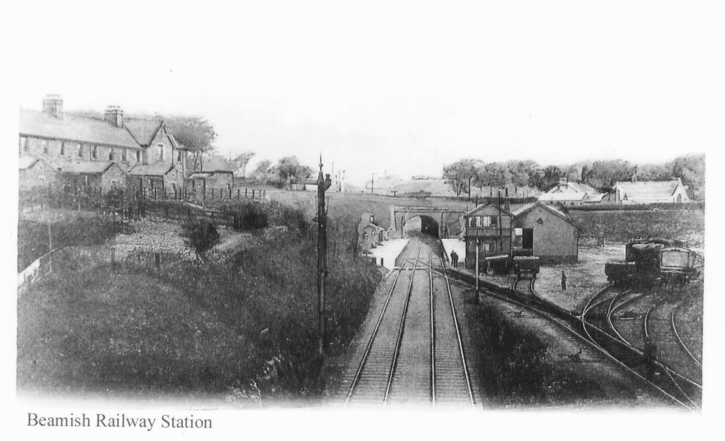 Beamish Station Postcard