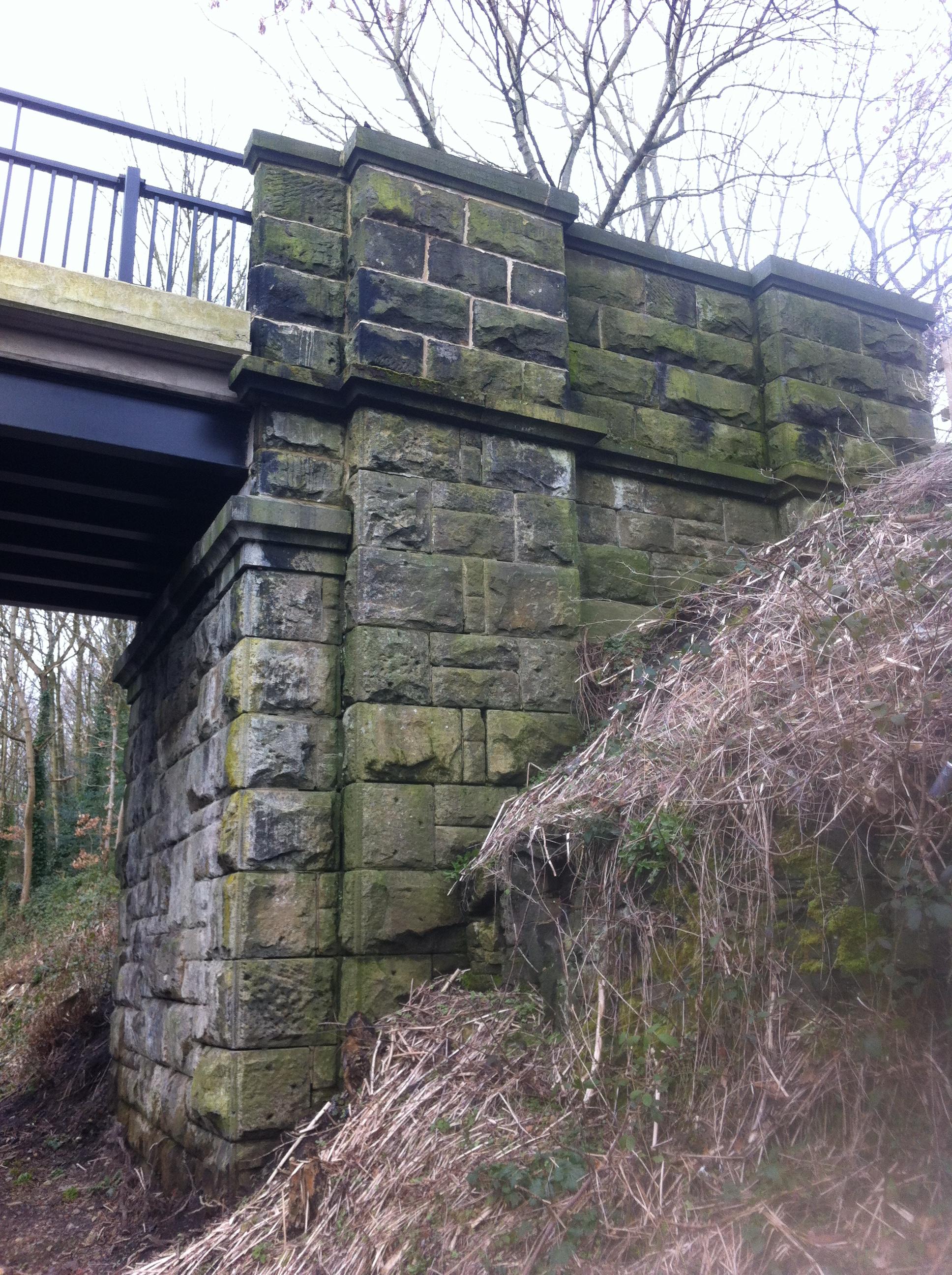 Bridge outside Beamish Station 1