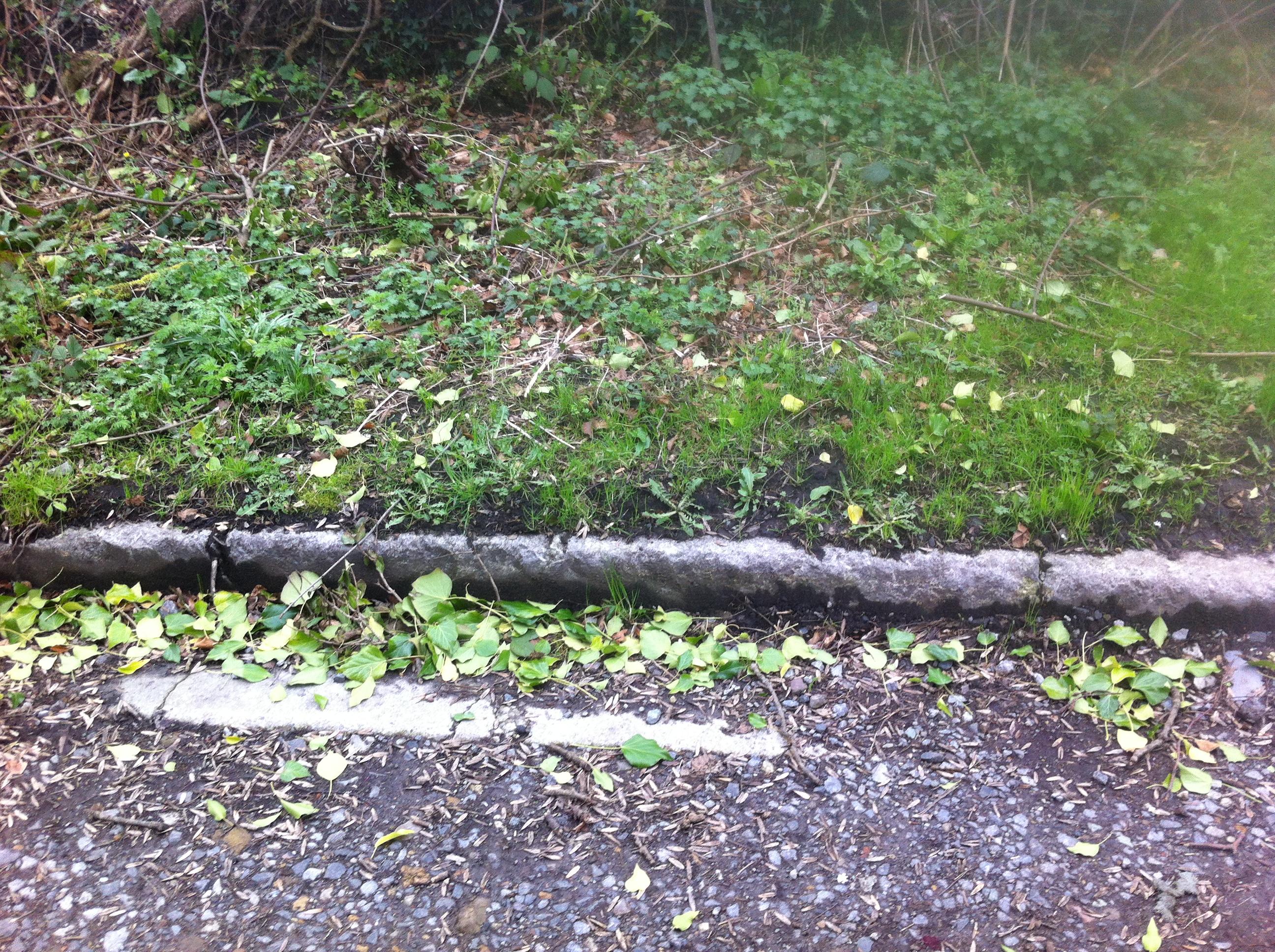 Curb stones at Beamish