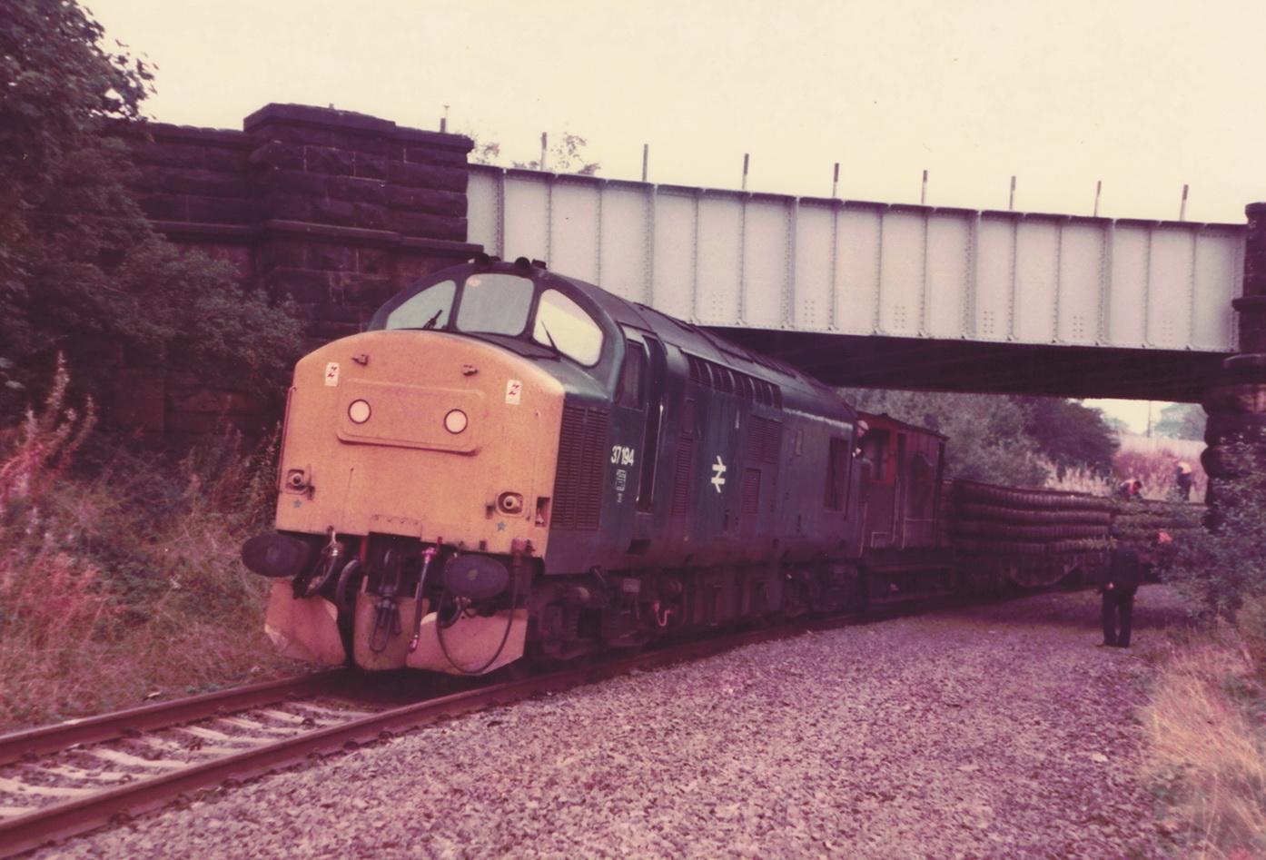 Pelton to Ouston 13 October 1985 004