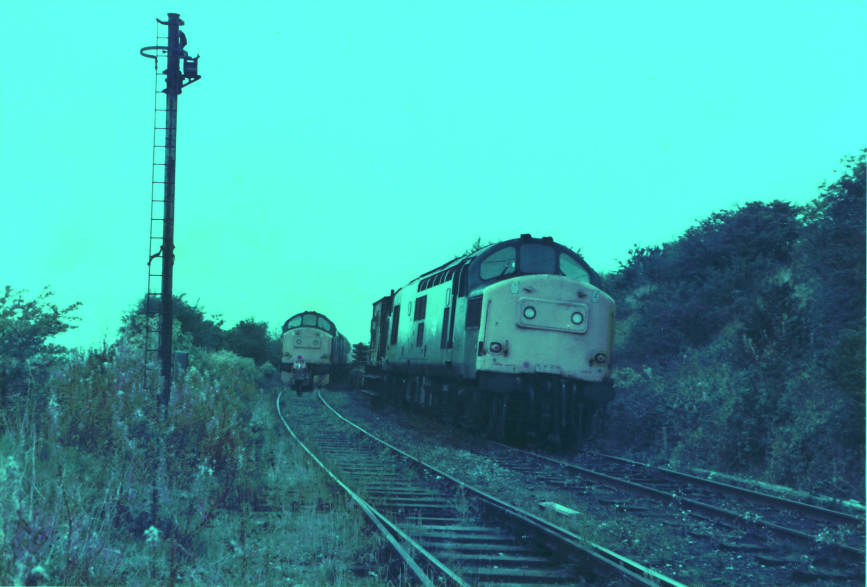 Pelton to South Pelaw 23 October 1985 005
