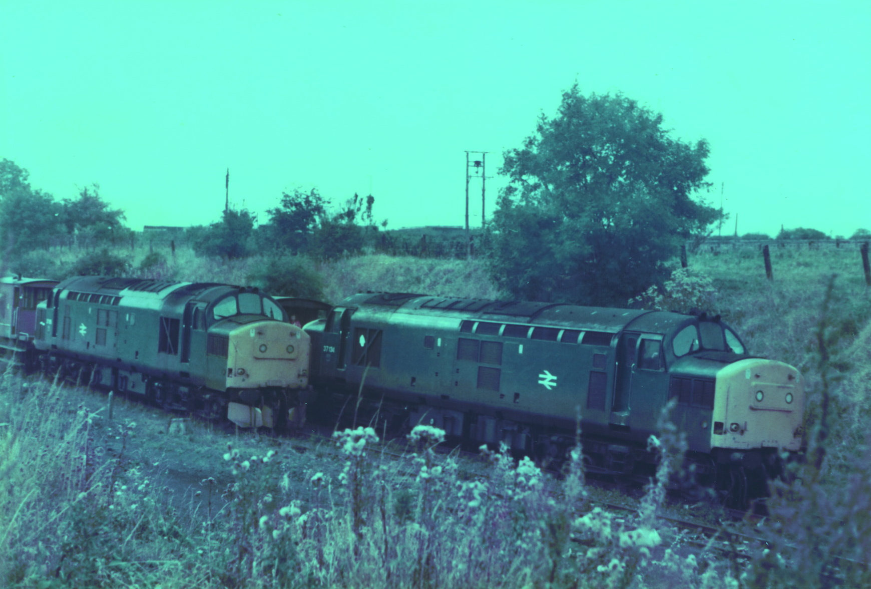 Pelton to South Pelaw 23 October 1985 008