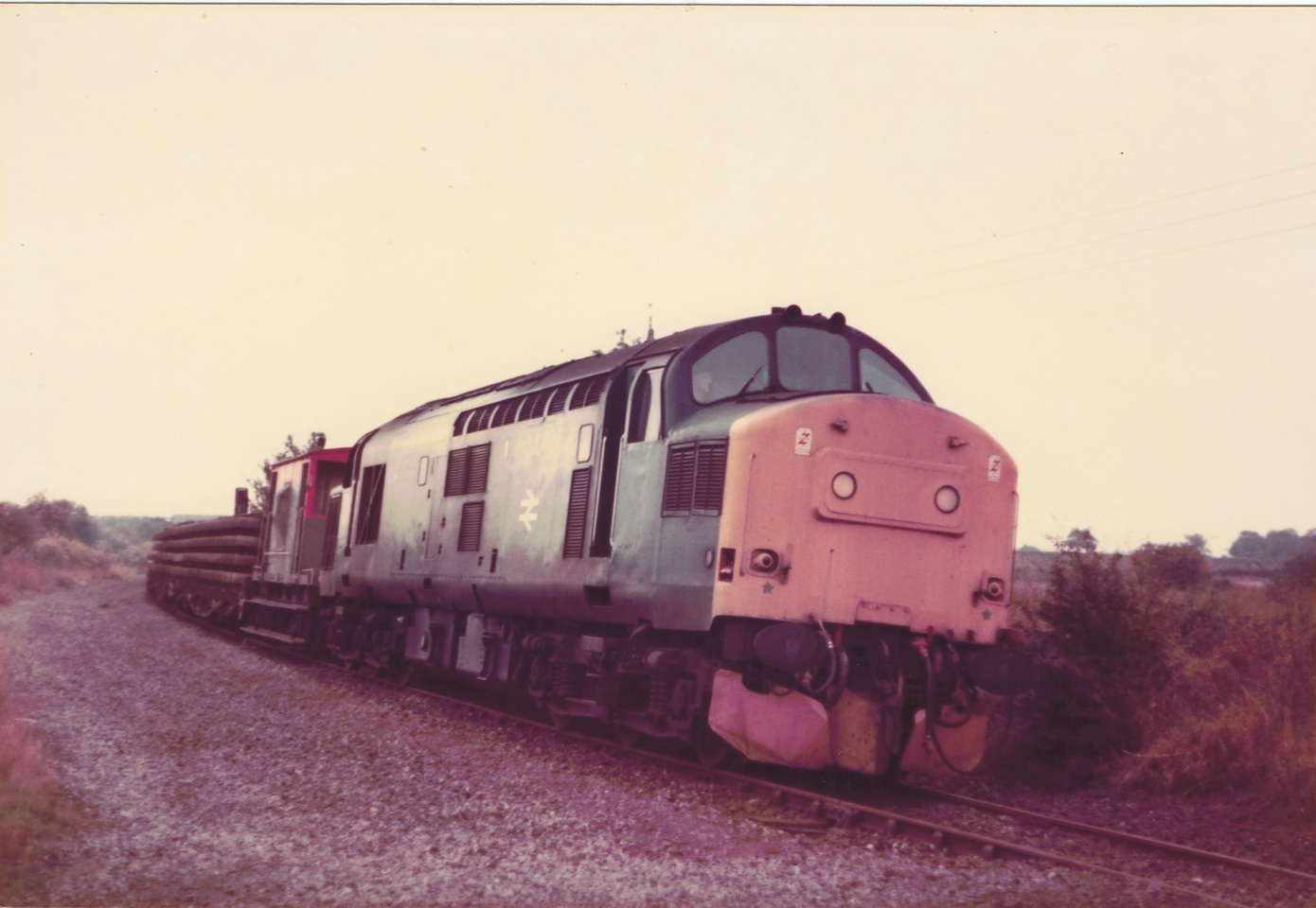 Pelton to South Pelaw 23 October 1985 2 012