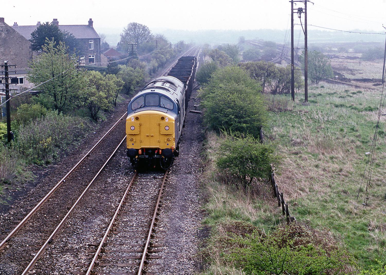 37094 at Greencroft on 10 May 1982. Photo copyright Stephen McGahon
