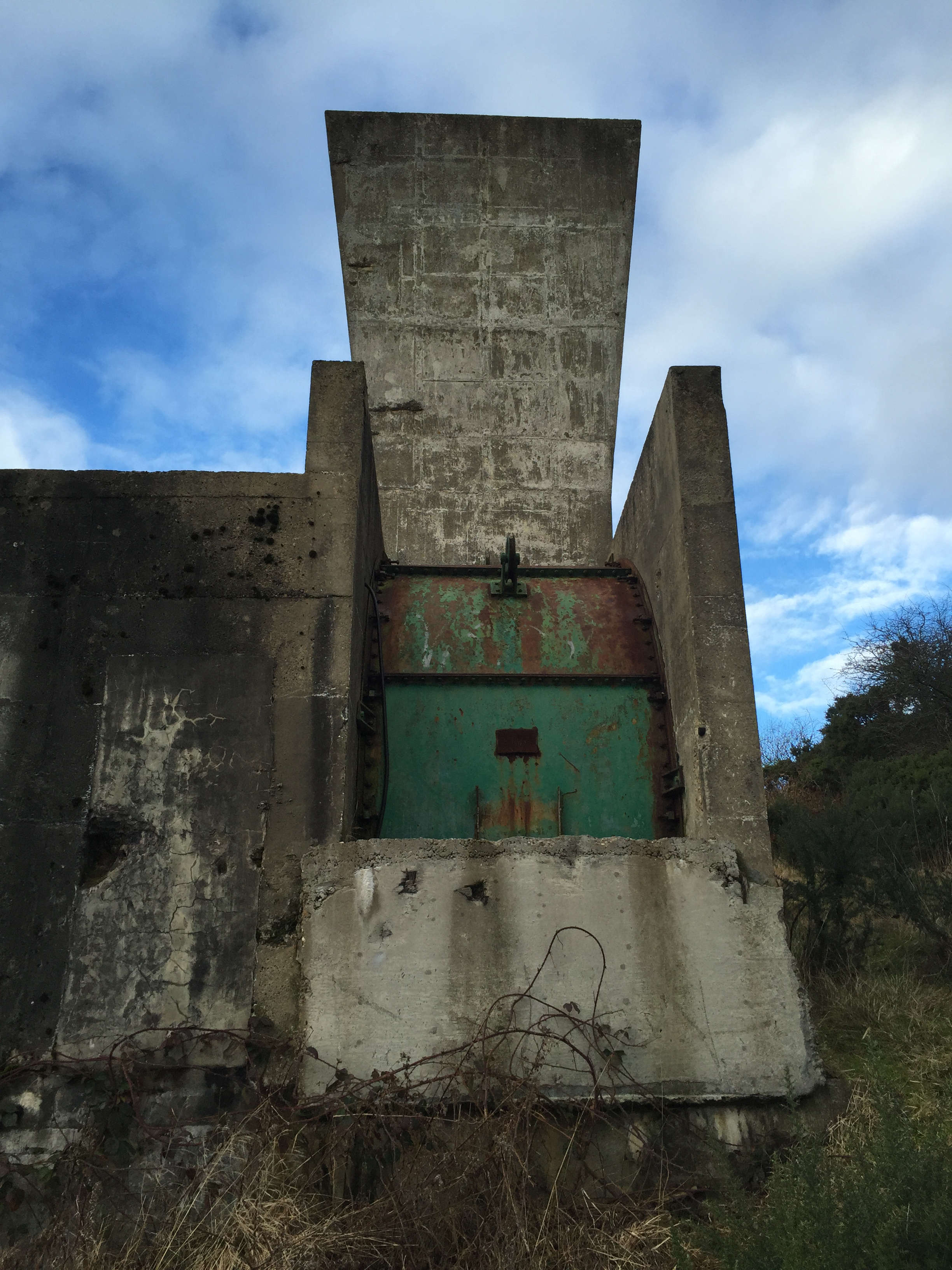 Eden Colliery Air Shaft. Photo Author's Collection