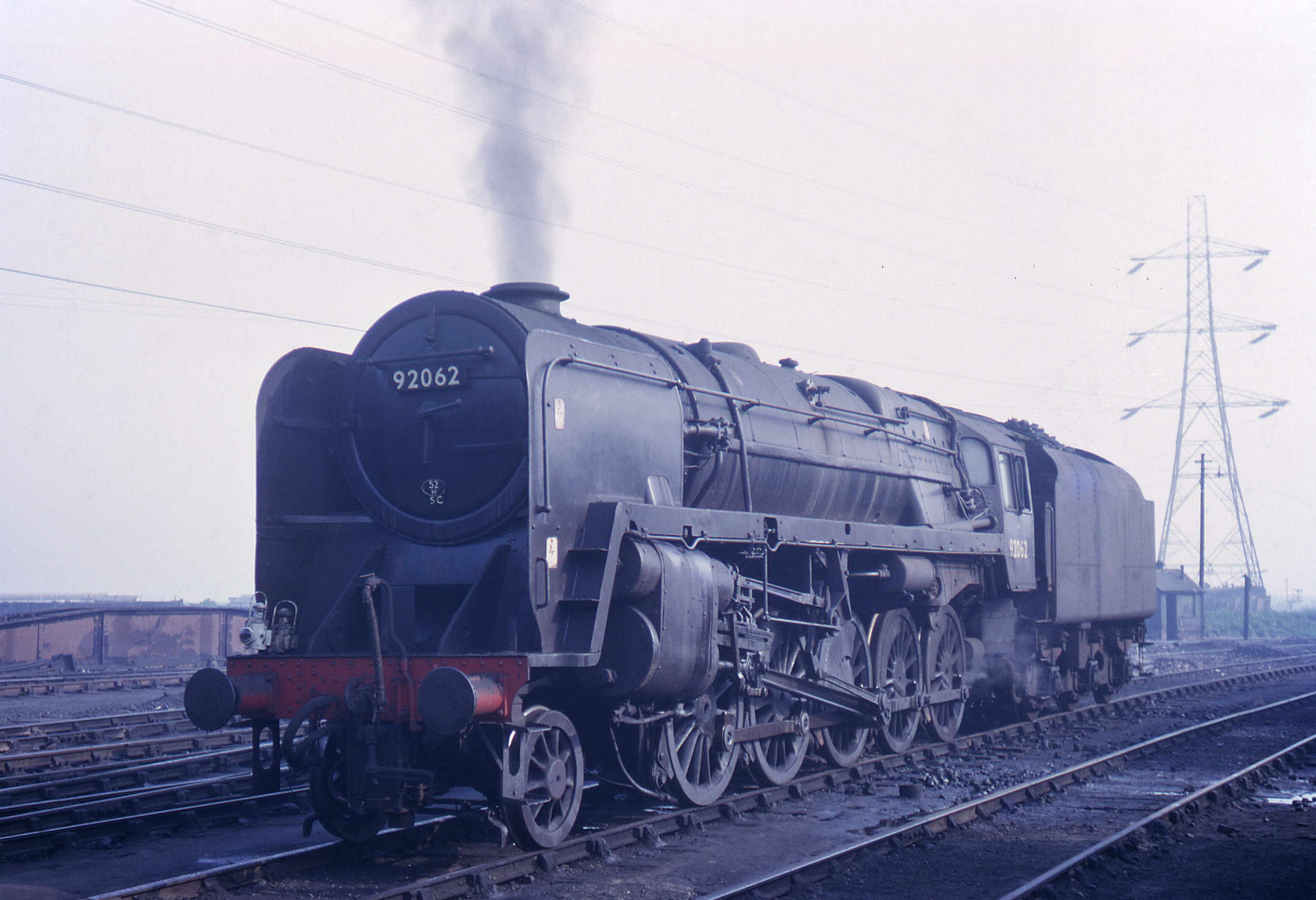 One of those fitted with air pumps for working the Consett ore trains